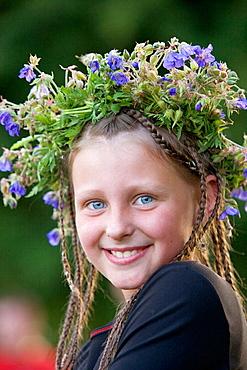 Midsummer Day, feast of St, John in Kernave, Lithuania
