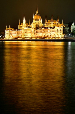 Hungarian parliament, Budapest Hungary, Europe