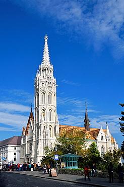 Matthias Church at Fisherman's Bastion, Budapest Hungary, Europe