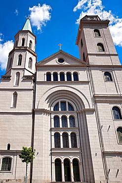 1837 build Church of St John, neoclassical style, Zittau, administrative district Goerlitz, Saxony, Germany, Europe
