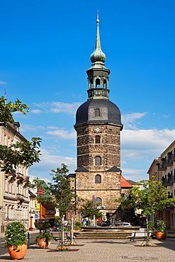Protestant Lutheran Church of St John Bad Schandau, Saxony, Germany, Europe