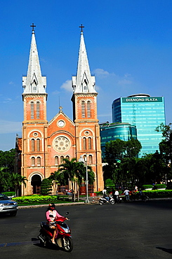Notre Dame Catholic Cathedral in Dong Khoi Street, Ho Chi Minh City,Vietnam