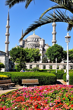 Sultan Ahmet I Mosque or Blue Mosque, built by the architect Davut Aga between 1603 and 1616 East view UNESCO World Heritage