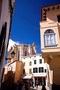 street of Ciutadella, Menorca, Balearic Islands, Spain
