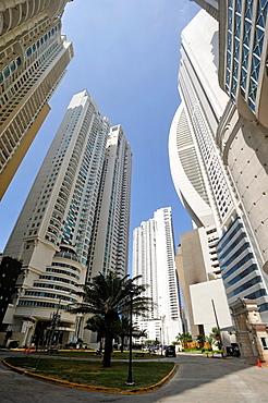 Trump Ocean Club International Hotel and Tower Panama, Punta Pacifica area, Panama City, Republic of Panama, Central America