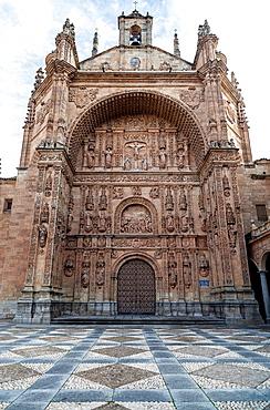 salamanca, castilla-leon, spain, convent of san esteban