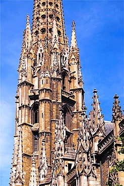 Basilica of Saint Michel, Bordeaux, Way of St James, Gironde, Aquitaine, France