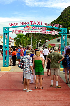 Water Taxis St Martin Maarten Caribbean Island Netherland Antilles