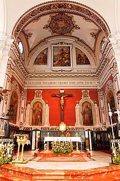 Church of San Juan Bautista -Main Altar, La Palma del Condado, Huelva-province, Spain