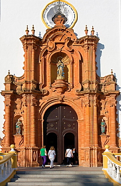 Church of San Juan Bautista -Doorway, La Palma del Condado, Huelva-province, Spain