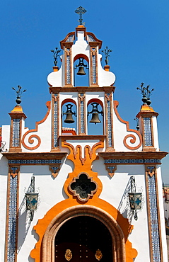 Chapel of the Holy Cross of Seville street, La Palma del Condado, Huelva-province, Spain