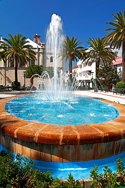 Spain square, Lepe, Huelva-province, Spain