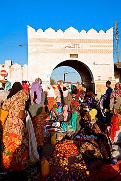 Christian Market, Showa Gate, Harar, Ethiopia