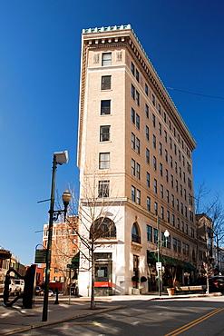 Flatiron Buillding, designed by Albert C Wirth, Asheville, North Carolina, USA