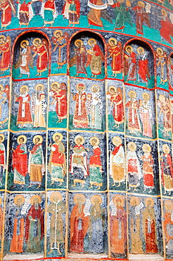 Sucevita Monastery Sucevia, Suceava, Bukovina, Romania