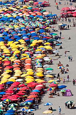 Peru Lima city Agua Dulce beach