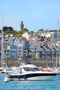 British Crown dependency, Guernsey island, St Peter Port