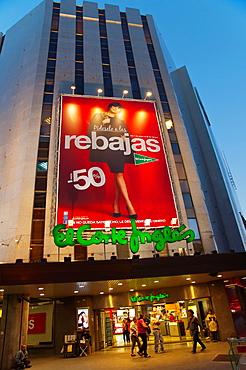 El Corte Ingles department store Avenida Mesa y Lopez street Santa Catalina district north Las Palmas city Gran Canaria island the Canary Islands Spain Europe