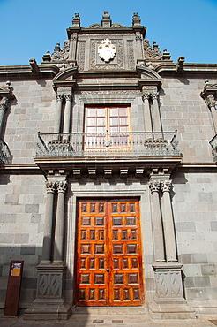 Casa Salazar building San Cristobal de La Laguna city Tenerife the Canary Islands Spain Europe