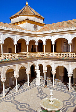 Pilate's House Main courtyard Seville, Andalusia, Spain
