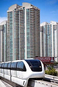 Monorail, Las Vegas.