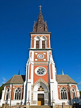 In 1888 built Neo-Gothic Sofiakyrkan Sofia church Jonkoping, Jonkoping Municipality, Smaland, Sweden, Europe