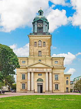 In 1815 built neoclassical Cathedral, Vastra Hamngatan/Kungsgatan, Gothenburg, Vastra Gotalands County, Sweden, Europe