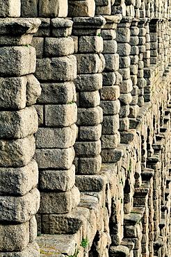 Segovia aqueduct. Spain