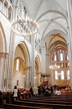 Saint Pierre Cathedral in the old town of Geneva, a center of Protestantism, City of Geneve, Switzerland.