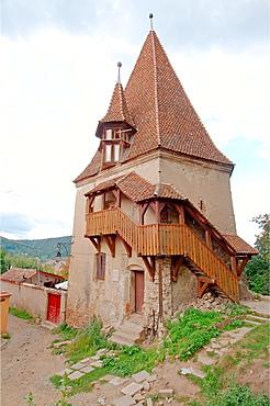 Historic centre Sighishoara, Transylvania, Romania, Europe