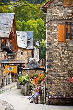 Escunhau  Naut Aran  Aran Valley  Pyrenees  Lerida  Lleida  Catalunya  Spain.