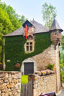 Bastret House  Unha  Naut Aran  Aran Valley  Pyrenees  Lerida  Lleida  Catalunya  Spain.