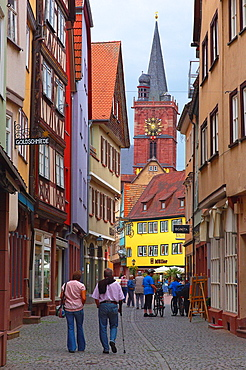Wertheim, Baden-Wuerttemberg, Main-Tauber, Romantic Road, Romantische Strasse, Germany. Image.