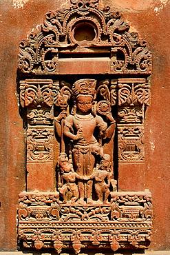 India, Rajasthan, Osian, Harihara temple (8th C), God Vishnu.
