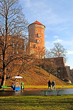 Wawel Royal Castle, Krakow, Poland, Central Europe