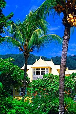 villa at La Digue island, Republic of Seychelles, Indian Ocean - 817-440233