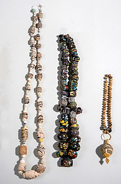 Islamic glass beads necklaces.
