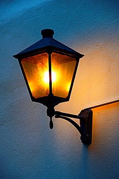 old style street lamp, old town of Geneva, Switzerland