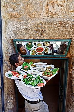 Restaurant in madaba. jordan.