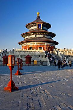 Temple of Heaven in Beijing. China, Beijing.
