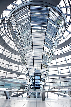 Reichstag Dome, Berlin modern achitecture of the government building