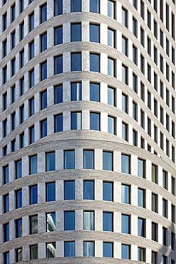 Skyscraper facade in Berlin, Kurfurstendamm