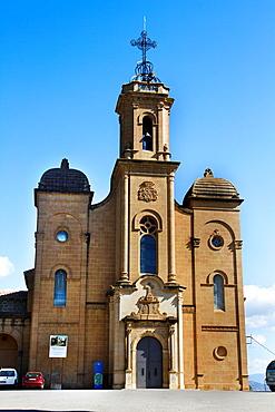 Sant Crist de Balaguer church. 1930. Balaguer, Noguera county, Lleida province, Catalunya.