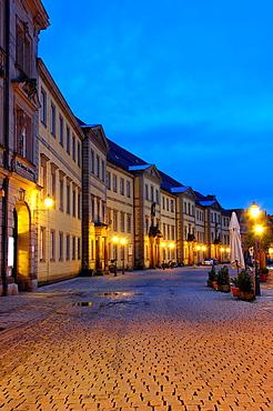 Bayreuth, Kanzleistrasse, Upper Franconia, Franconia, Bavaria, Germany.