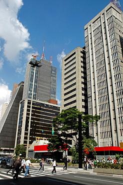 Sao Paulo, Brazil, Avenida Paulista