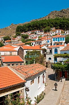 the village of Chora (Hora) Samothraki Island, Greece.