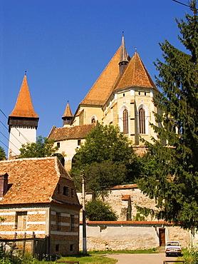 Europe, Romania, Transylvania, Biertan, Fortified Church.