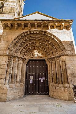 La Magdalena romanesque church, Tudela, Navarre.