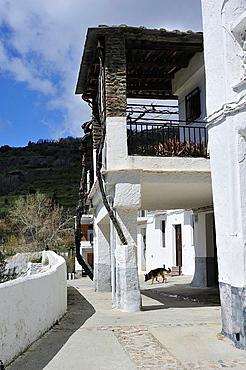 Architecture popular. Mecina-Fondales, Las Alpujarras. Granada, Spain