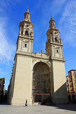 Cathedral of Santa Maria la Redonda. Logrono, La Rioja, Spain